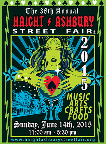 2015 Haight Ashbury Street Fair