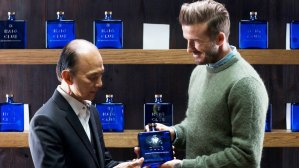 David Beckham in Malaysia - Haig Club
