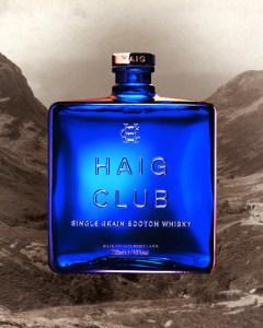 Haig Club Scotch Whisky - Beckham Haig Whisky Bottle