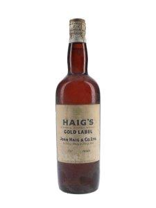 Haig's Gold Label / Spring Cap / Bot.1950s Blended Scotch Whisky