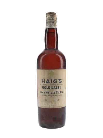 Haig's Gold Label / Spring Cap / Bot.1950s Blended Scotch Whisky