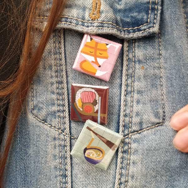 Japan Badges