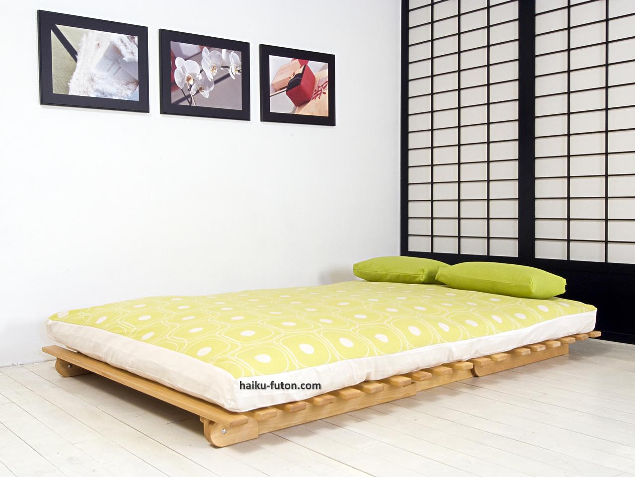 Futon sofcama Plegable  Sofcama de madera para futon