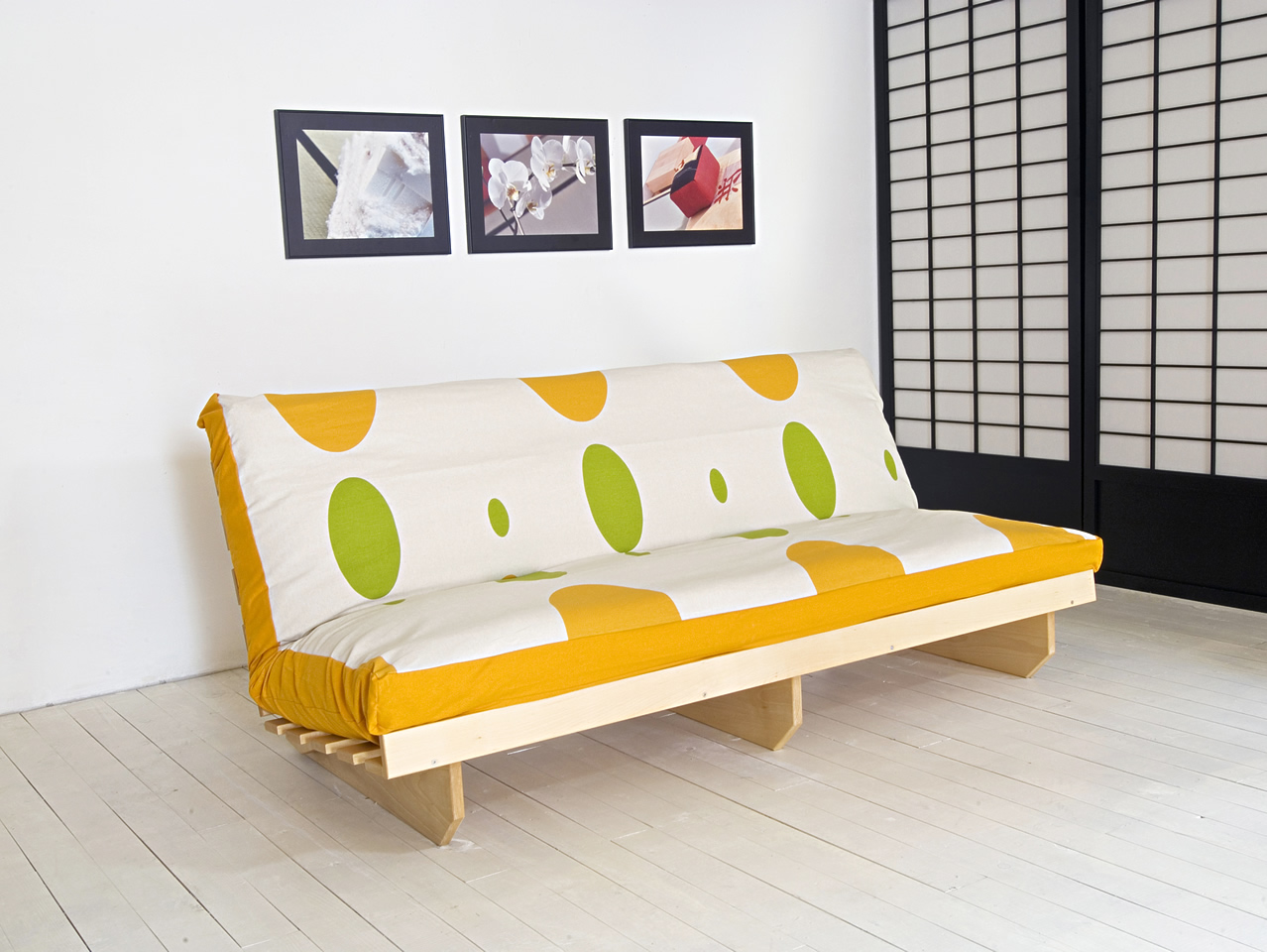 fundas para un sofa cama large round table futon sofá paiché  de madera