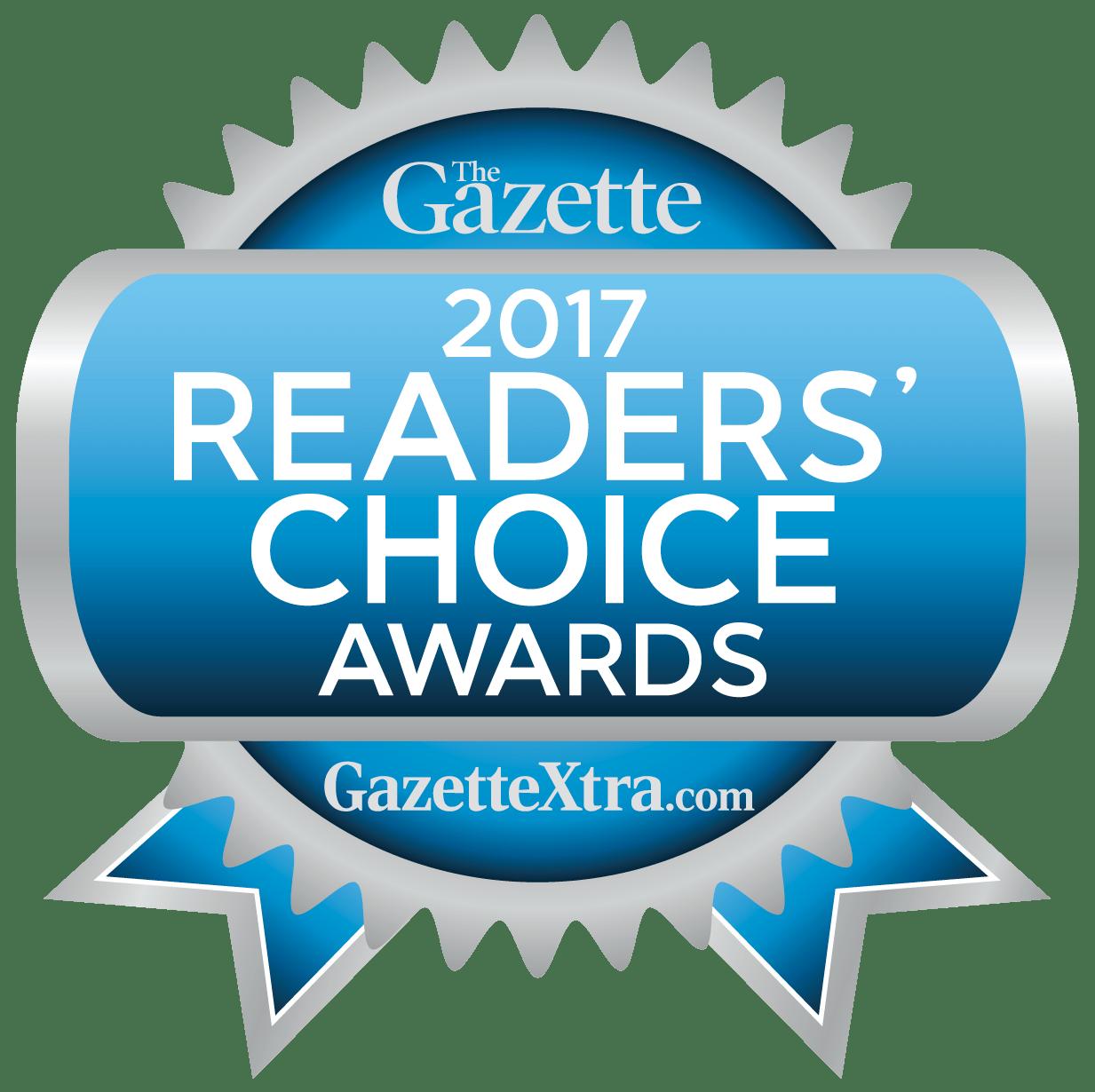 Gazette Reader's Choice 2017 & 2018