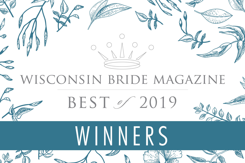 WINNER! Wisconsin Brides Best of 2019