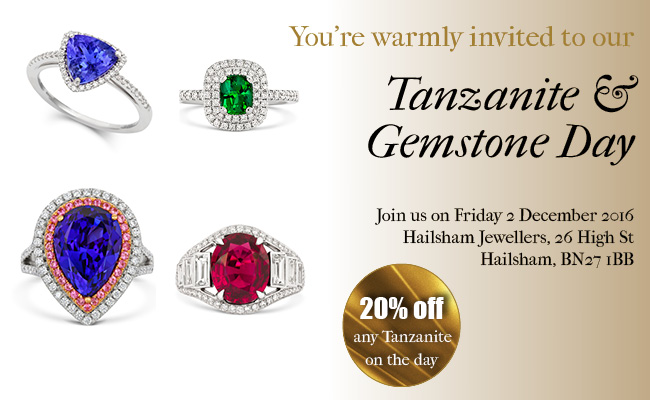 Tanzanite & Gemstone Day – 2nd December 2016