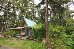Cabin on Chilkat Peninsula