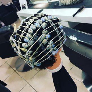 Dauerwelle wickeln  Hair  Beauty Artist