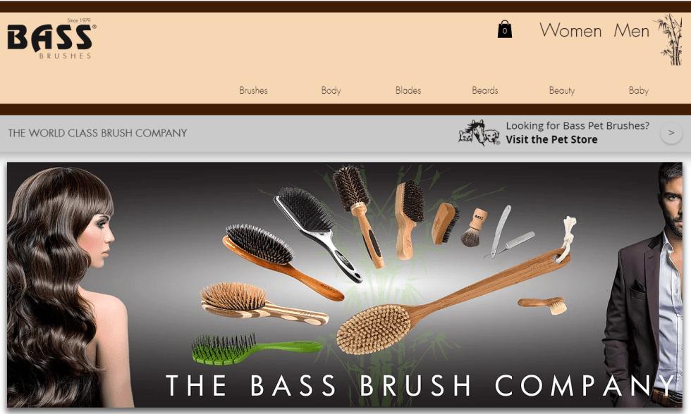 BASS Boar Bristle Brush