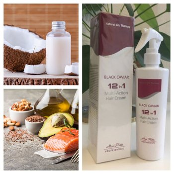products and food to combat hair loss