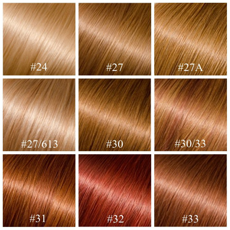 27 33 Hair Color