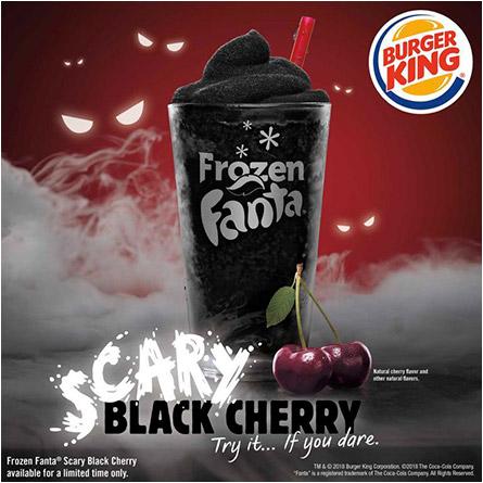 Scary Black CherryFrozen Fanta