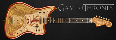 Game of Thrones guitar