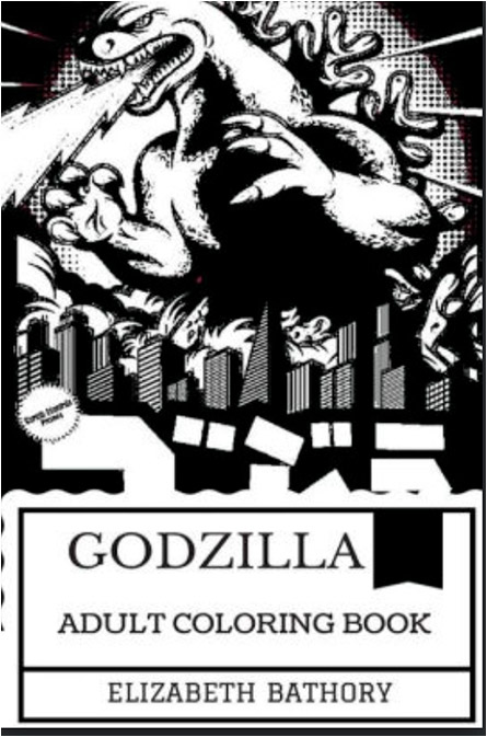 Godzilla Coloring Book
