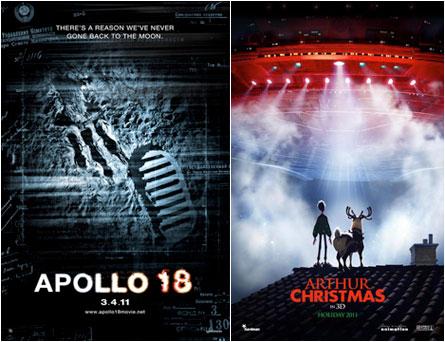 Apollo 18, Arthur Christmas