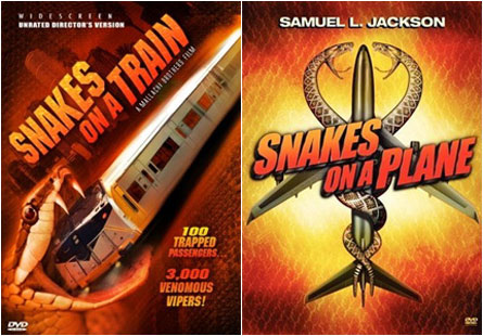 Snakes on a Plane/Train