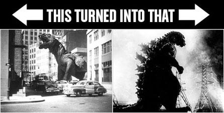 The Beast From 20,000 Fathoms 'n Godzilla