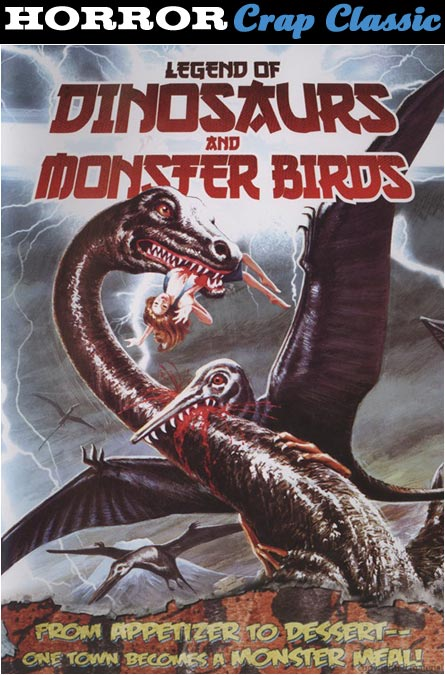 The Legend of Dinosaurs and Monster Birds