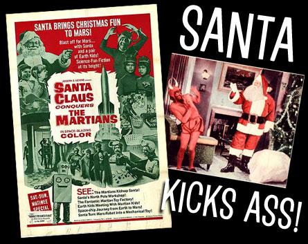 Santa Kicks Ass