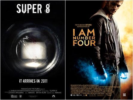 Super 8, I Am Number 4