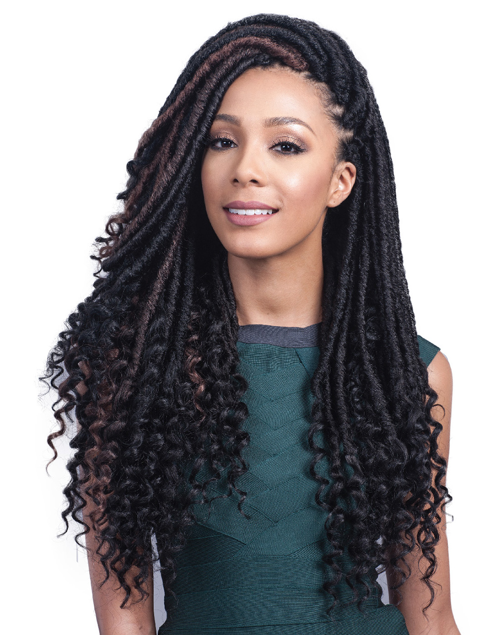 Bobbi Boss Bomba Faux Locs Soul Curly Tips 20
