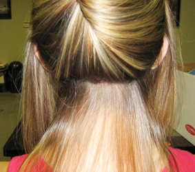 fusion hair extensions falling strands