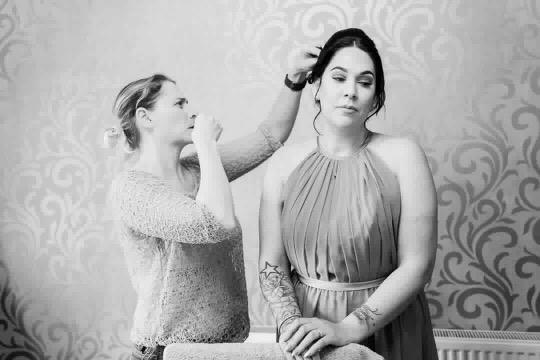 Bride hair & makeup gallery