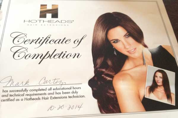 I Am A Platinum Great Length Hair Salon And Also Now Do Hot Heads Tape On Extensions