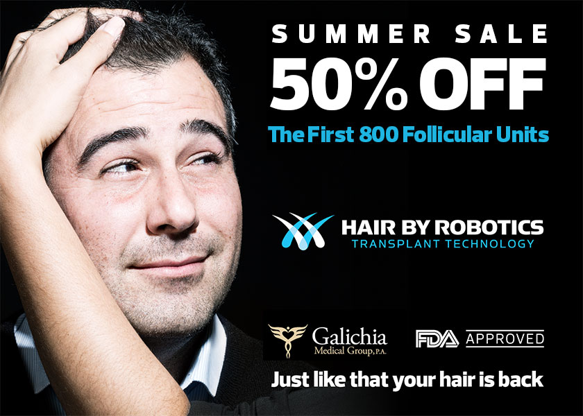 Galichia Promotion Hair By Robotics