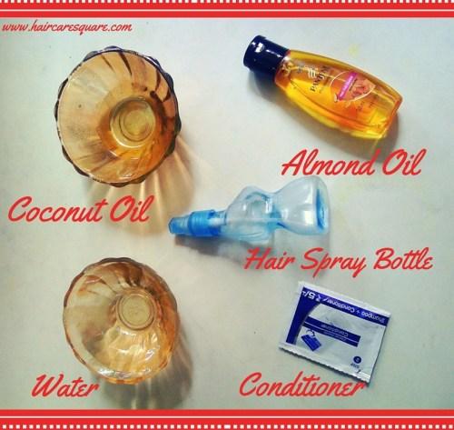 diy heat protectant hair spray
