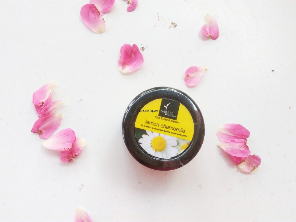 natural bath and body hand and foot cream review
