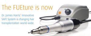 FUE Safe System hair transplant method