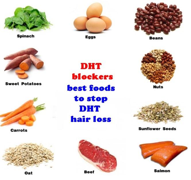 DHT blocker foods