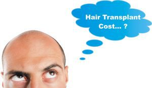 Cost differences in hair transplantation