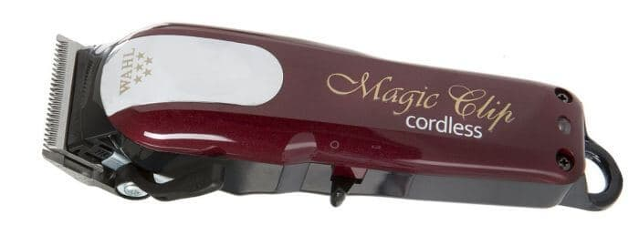 The 5 star Cordless Magic Clipper has a crunch, stagger tooth blade for ethnic hair/fades
