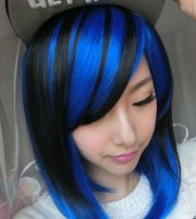 2018 blue hair color hairstyles