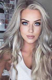 Gray hair color ideas 2018