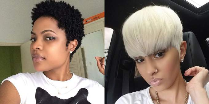 56 cool pixie short haircuts and hairstyles for black hair