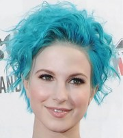 blue hairstyles 2018-2019 - hair