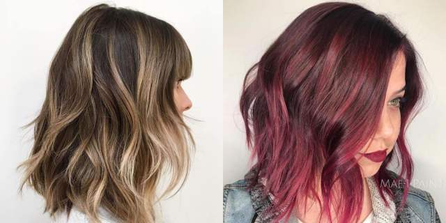 60 best long bob hairstyles and hair colors ( balayage+ombre