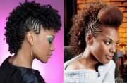 mohawk hairstyles black women
