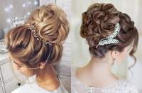 Updo Wedding Hairstyles 2019 - Hair Color Ideas for Bride ...