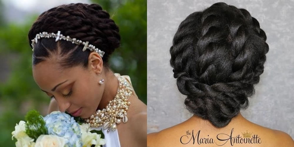 Easy Wedding Hairstyles For Black Women With Natural Hair 2019