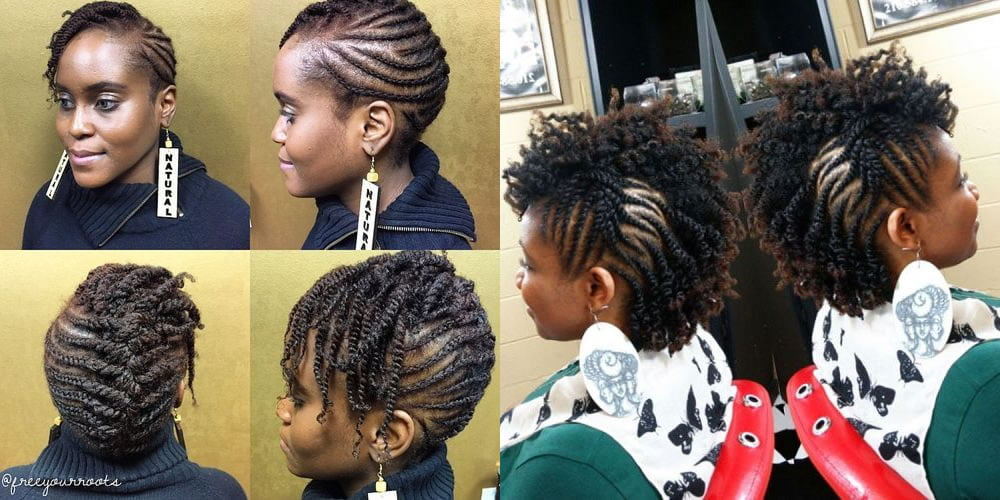 30 Lovely Short Natural Hairstyles And Hair Colors For Black Women