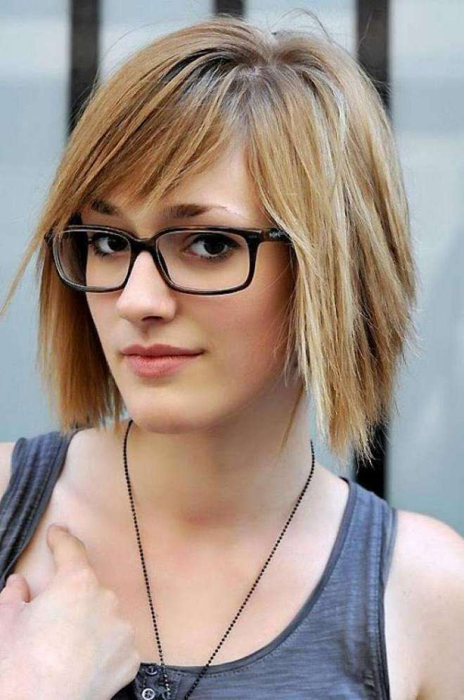 Short Hairstyles For Women With Glasses
