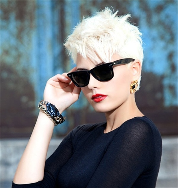 Edgy Short Hairstyles For Women