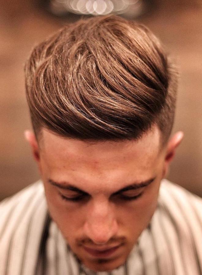 Side Quiff Haircut