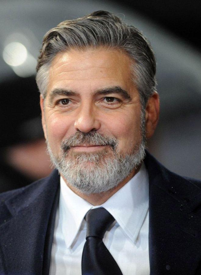 Grey Short Haircut For Older Men