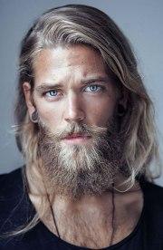 long hairstyles men - classy